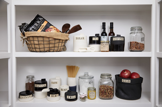 Style Union Home's Elevated Organization for the Pantry