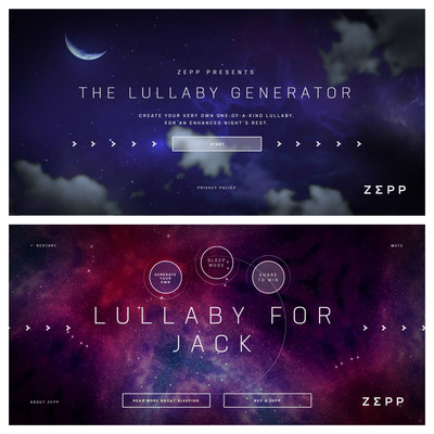 Create your personalized lullaby now! https://www.zepplullaby.com/