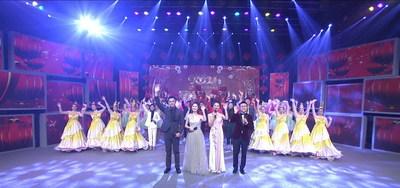 En el sitio de la Gala del Festival de la Primavera Hakka 2021 - Noche de Tailandia (Bangkok)