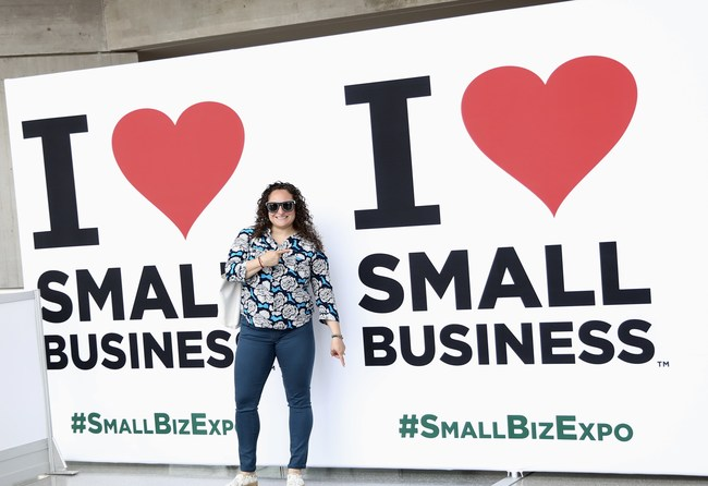 I Love Small Business at Small Business Expo.