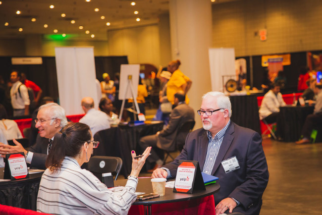 Business Networking at Small Business Expo