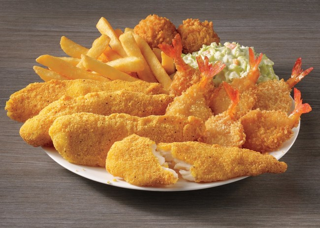 Fish Tenders & Shrimp Meal