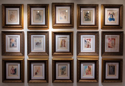 Artwork by the acclaimed Surrealist Salvador Dali on display at the Park West Fine Art Museum & Gallery at the Forum Shops in Caesars Palace Las Vegas. (Photo by Amanda Nowak Photography)