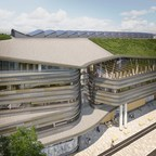 渥太华公共图书馆-加拿大图书馆和档案馆联合设施:一个标志性的文化基础设施项目,为绿色未来指明道路