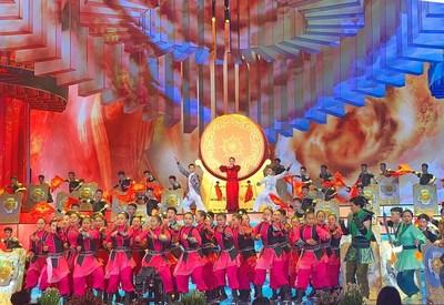 Uma programação com artes marciais chinesas está sendo ensaiada para o evento de gala do Festival da Primavera de 2020, 21 de janeiro de 2020. /CFP (PRNewsfoto/CGTN)