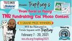 "ZYMOX® Sponsors TrapKing's ""From Feral to Fancy"" TNR Fundraising..."