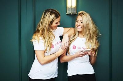 So Syncd sisters: Louella and Jessica Alderson