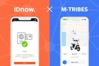 New cooperation: IDnow and M-TRIBES offer mobility solutions with AI-based digital identification