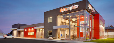 AlphaGraphics was named one of the largest printing operations by Printing Impressions.