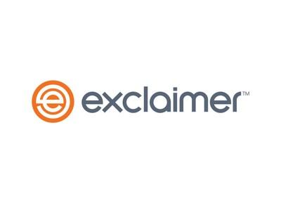 Exclaimer Logo (PRNewsfoto/Exclaimer)