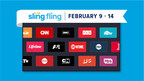 SLING TV invites cable customers to a free, no strings attached...