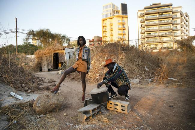 Hanna Sylla And Bamba Ndiaye In Senegal's Natural Beauty Captured By Djibril Drame.