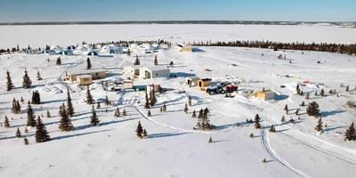 Kiyuk Lake Camp (CNW Group/Cache Exploration Inc.)