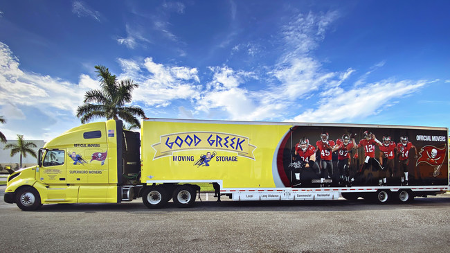 Good Greek Congratulates the World Champion Tampa Bay Buccaneers. Good Greek is the Official Mover of the Tampa Bay Buccaneers, Providing Professional Moving Services and Ensuring Everything the Team Needs Arrives Safely and On Time.