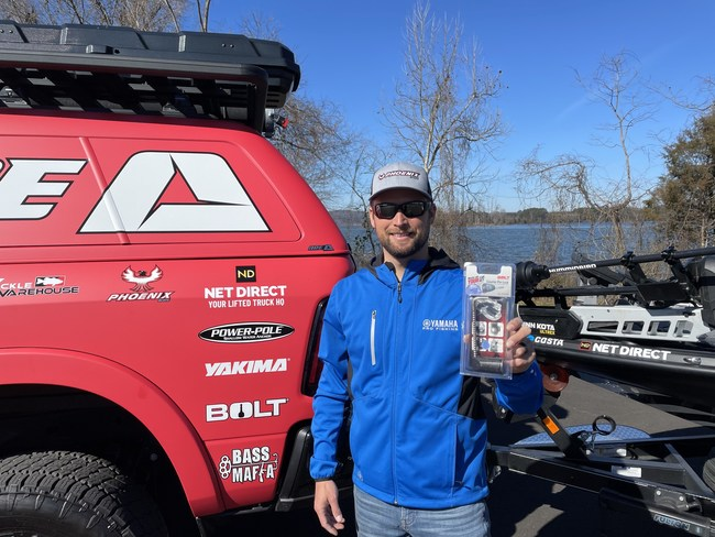 "Professional Angler Justin Lucas Relies On BOLT ""Breakthrough One-Key Technology"" Locks"