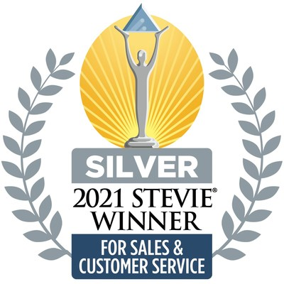 2021 Silver Stevie Winner for Customer Services