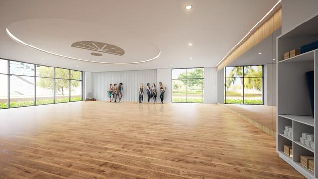 Lake Nona Performance Center Yoga Room