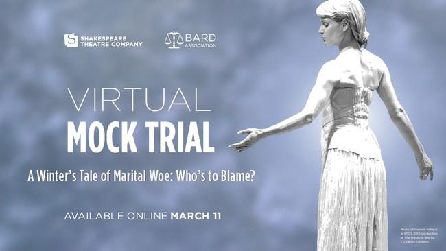 Shakespeare Theatre Company presents Virtual Mock Trial
