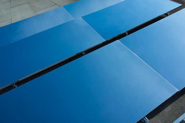 SkyCool radiative cooling panel