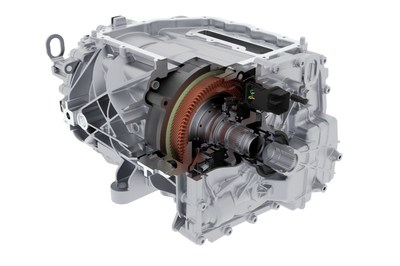 BorgWarner's High Voltage Hairpin (HVH) 320 motor capable of 97% peak efficiency and equipped with 800-volt capabilities