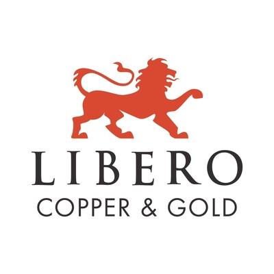 Libero Copper & Gold Corporation. Logo (CNW Group/Libero Copper & Gold Corporation.)
