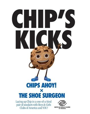 Chips Ahoy!® Cookies and The Shoe Surgeon Team Up For Fan-Inspired Sneaker Collab Benefitting Boys & Girls Clubs of America