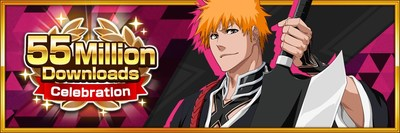Bleach: Brave Souls, has reached a total of 55 million downloads* worldwide. Starting on Sunday, February 28, the 55 Million Downloads Celebration will kick off in-game in commemoration of this milestone. The celebration will include a login bonus, special orders, and more campaigns where players can receive amazing rewards. Also, for the first time players can celebrate the lunar year with new in-game campaigns as part of the Chinese New Year Campaign starting today, Wednesday, February 10.