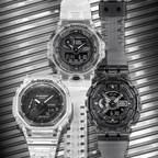 G-SHOCK Unveils New Series Of Semi-Transparent Timepieces