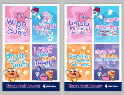 LACDPH Oral Health Campaign Graphic