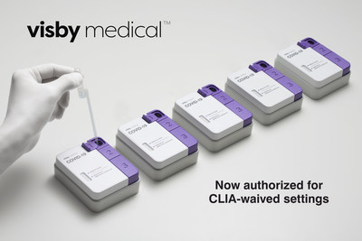 Visby Medical Test - Now Authorized for CLIA-Waived Settings
