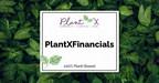 Plantx宣布于1月2021年1月1日的每月每月纪录的每月收入为1,089,502美元