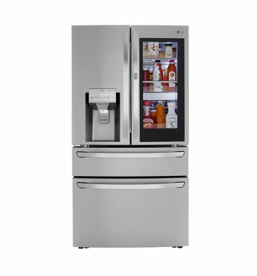 LG InstaView French Door Refrigerator with Craft Ice