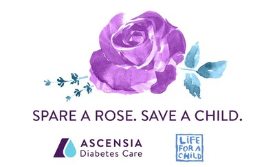 Ascensia Diabetes Care is supporting the Spare A Rose campaign, organized by Life for a Child, for the fourth consecutive year