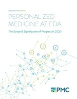 Personalized Medicine at FDA: The Scope & Significance of Progress in 2020 documents the U.S. Food and Drug Administration's approval last year of 19 personalized therapies, one cell-based immunotherapy, and eight significant new diagnostic indications that will help physicians target treatments to only those patients who will benefit.