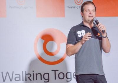 Fabio Fernandes, fundador da Walking Together. Crédito: Divulgação