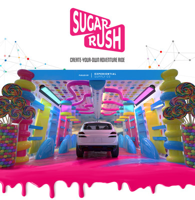 Families choose their own immersive adventures at Sugar Rush. http://www.ridesugarrush.com