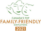 Balancing Work and Family Commitments During the Pandemic: 'Canada's Top Family-Friendly Employers' for 2021 are Announced