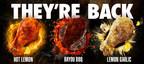 "Wingstop Brings Fan Favorite ""Remix"" Flavors Back to Menus Nationwide Beginning Valentine's Day"