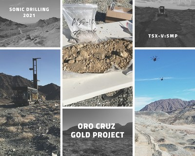 Southern Empire - Sonic Drill Program 2021 (CNW Group/Southern Empire Resources Corp.)
