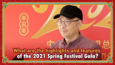 Chen Linchun, director general de la Gala del Festival de Primavera de 2021 (PRNewsfoto/CGTN)
