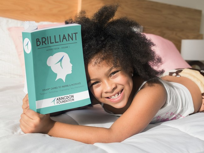 Brilliant Activity Book available now on Amazon