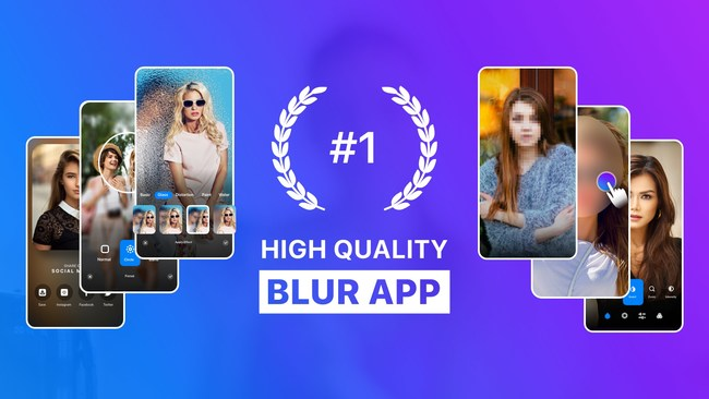 Blur photo editor is getting massive installations and positive feedback from the users