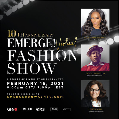 AMBI Skincare, the skin tone authority, is a lead sponsor of EMERGE!, A Fashion Runway Show, which is celebrating a decade of diversity on the runway.