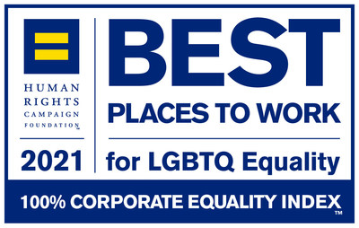 Comerica Incorporated (NYSE: CMA) received a perfect score on the Human Rights Campaign Foundation's 2021 Corporate Equality index for the eighth consecutive year.