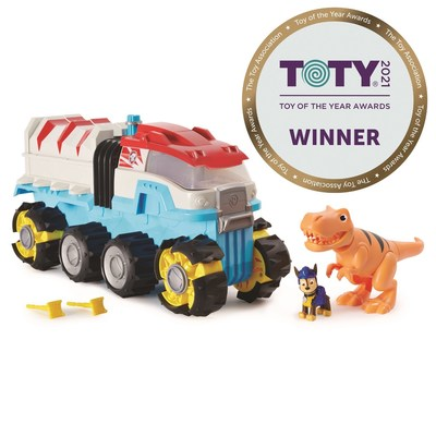 PAW Patrol Dino Patroller for Preschool Toy of the Year (CNW Group/Spin Master Corp.)