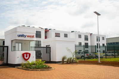 Unity Homes' 1,100-apartment development in Tatu City, Kenya