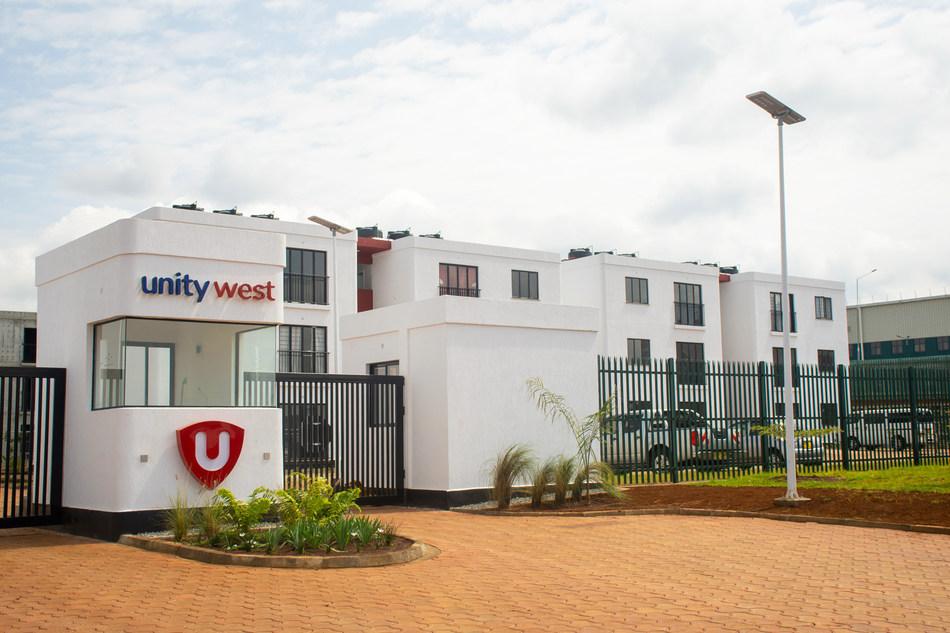 Unity Homes' 1,100-apartment development in Tatu City, Kenya