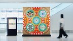 """Works of Media Art inspired by the """"patterns"""" of Kyushu regional crafts exhibited at Fukuoka Airport from February 10"""