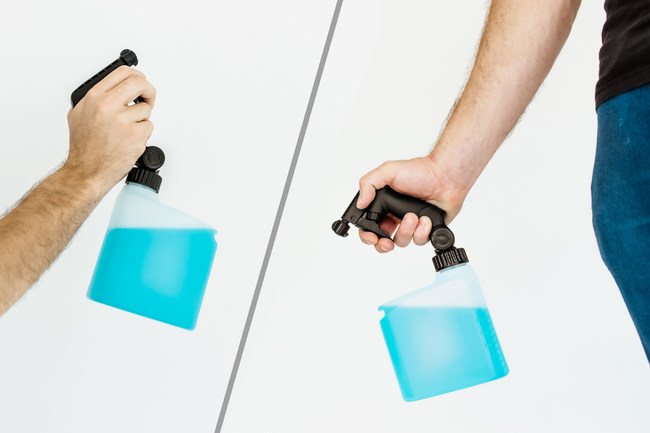 """Support young entrepreneurs while supporting the environment from """"diposable"""" culture. Become a backer at: https://www.kickstarter.com/projects/pivotspray/the-spray-bottle-reinvented"""
