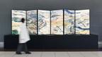 """媒体艺术的作品,受到日本武士和忍者的""""运动""""的启发,于2月9日在Chubu Centrair国际机场展出"""